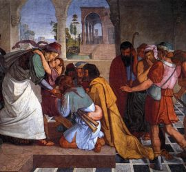 The Recognition of Joseph by his Brothers Peter Cornelius 1816-1817